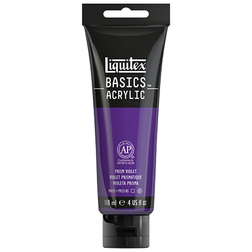 Liquitex Basics Acrylic Paint - (4oz/118ml) Prism Violet