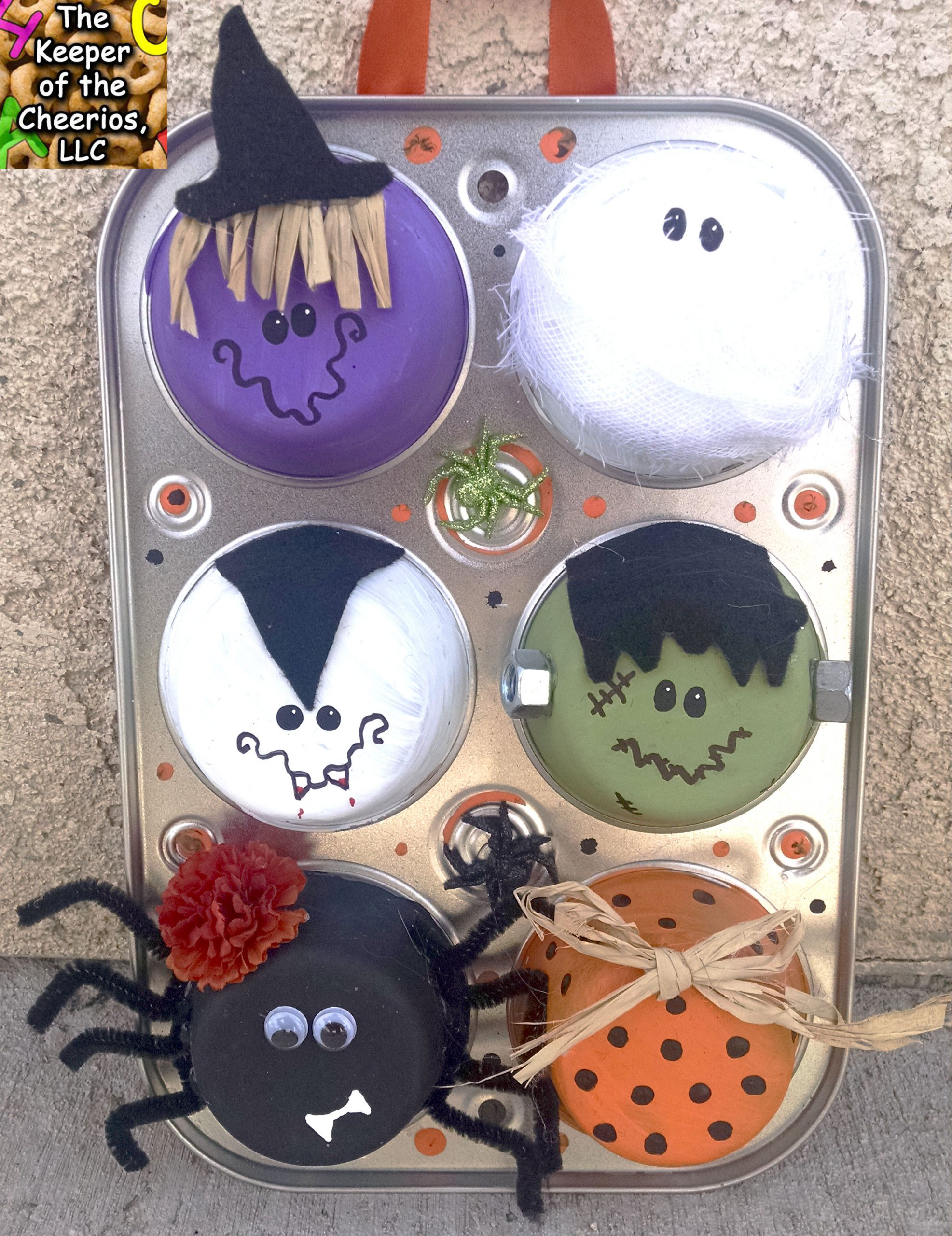halloween muffin tin