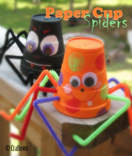 m550xm500__Paper cup spiders