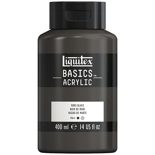 Liquitex Basics Acrylic Paint - (13.5oz/400ml) Mars Black