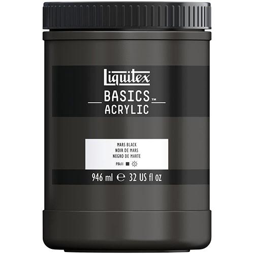Liquitex Basics Acrylic Paint - (32oz/946ml) Mars Black