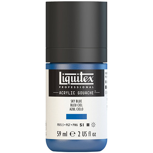 Liquitex Professional Acrylic Gouache Paint - (2oz/59ml) Sky Blue
