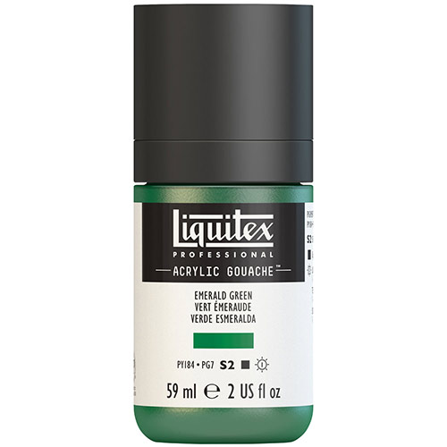 Liquitex Professional Acrylic Gouache Paint - (2oz/59ml) Emerald Green