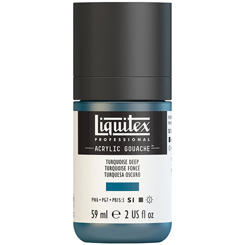 Liquitex Professional Acrylic Gouache Paint - (2oz/59ml) Turquoise Deep