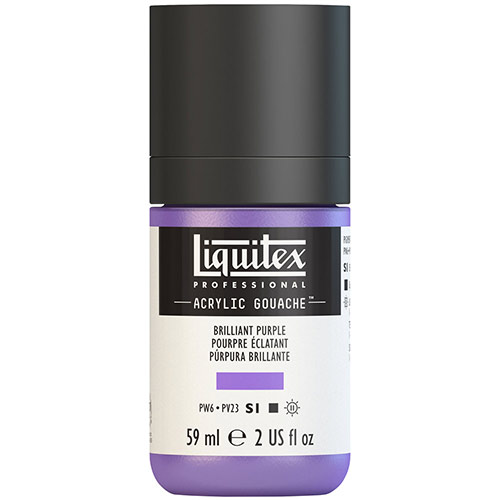 Liquitex Professional Acrylic Gouache Paint - (2oz/59ml) Brilliant Purple