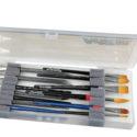 Brush Box with Foam Inserts 14 Inchx6 Inchx1.25 Inch